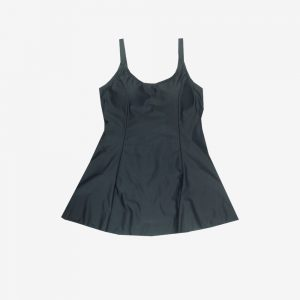 BB5095 BLK 1PC swim dress